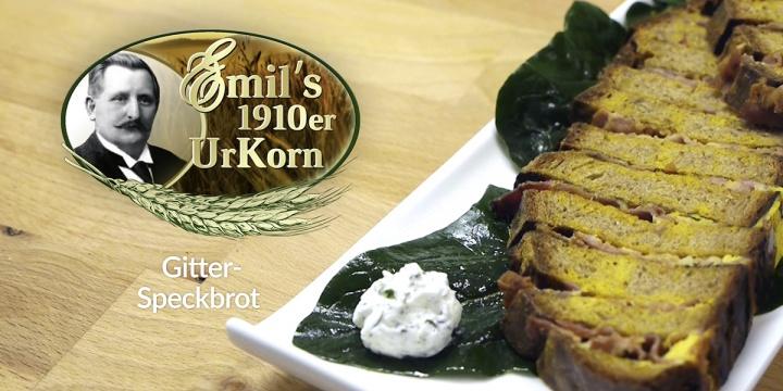 Emil s 1910er gitter speckbrot rezept emil reimann gmbh for Kuchen direkt vom hersteller